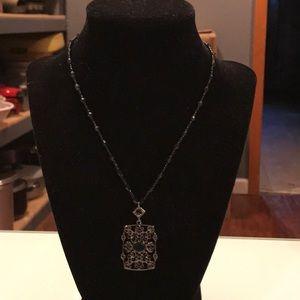 Beautiful beaded drop necklace